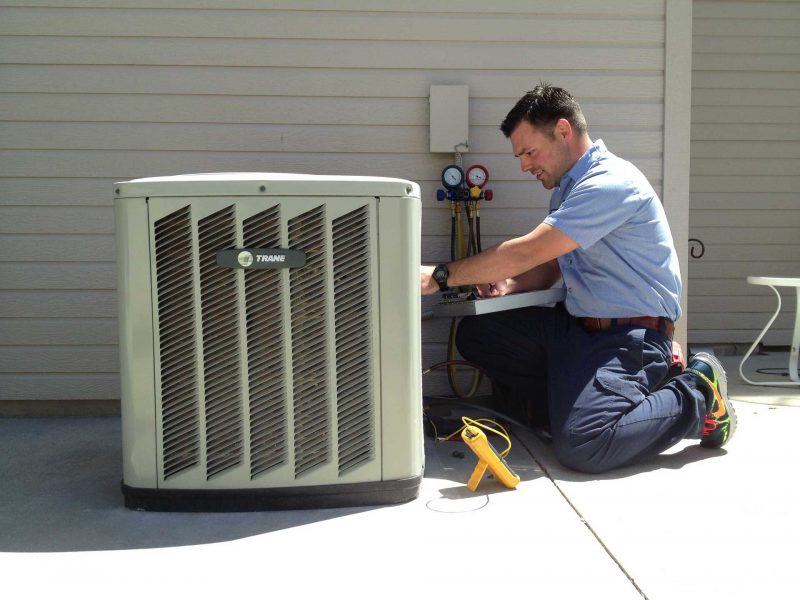 cleaning and inspecting hvac