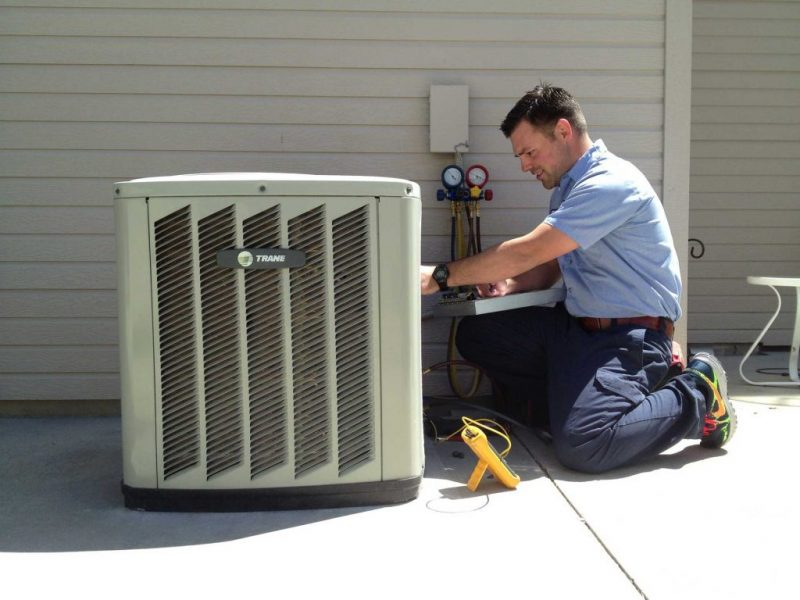 AC installation in Hollywood